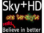 Sky Plus HD Samsung HDSKYDIR box with massive 1TB HDD