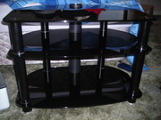 BRAND NEW GLASS BLACK TV UNIT